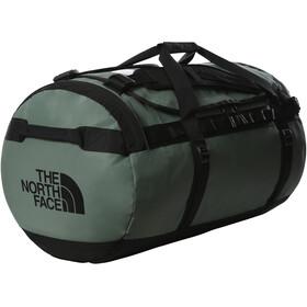 The North Face Base Camp Duffel Bag L, verde/negro